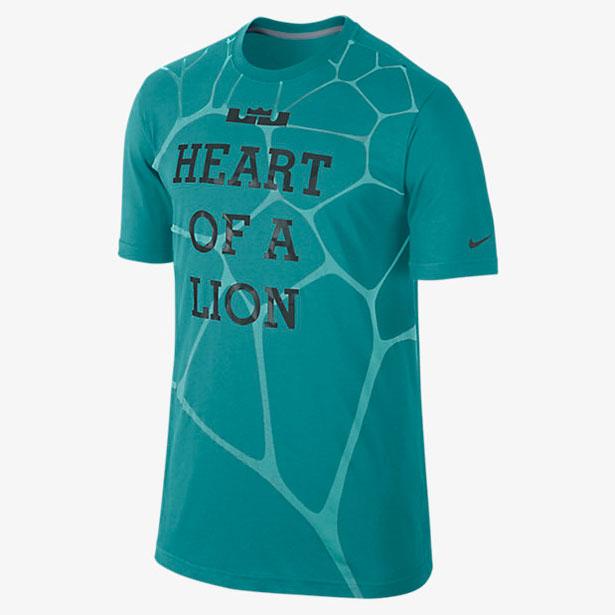 Nike LeBron Heart of a Lion Shirt | SportFits.com