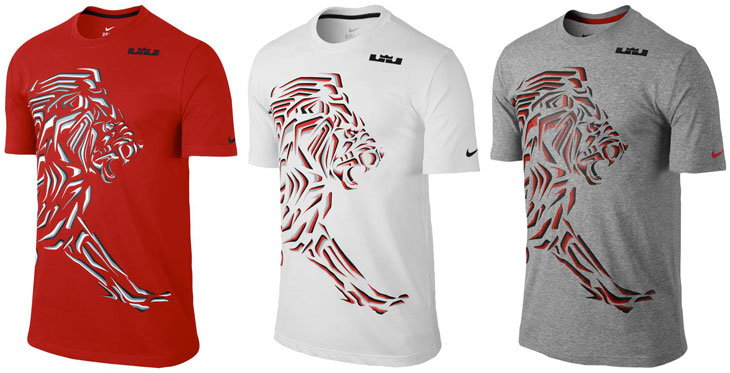 nike lebron james lion tshirt | David Goodenough