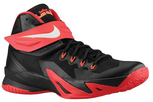 new product 83633 e426f New Arrival Nike Zoom LeBron Soldier 8 University Red Black ...