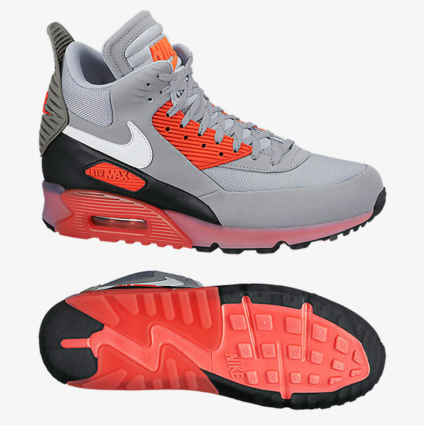Nike Air Max 90 Ice SneakerBoot Infrared   SportFits.com