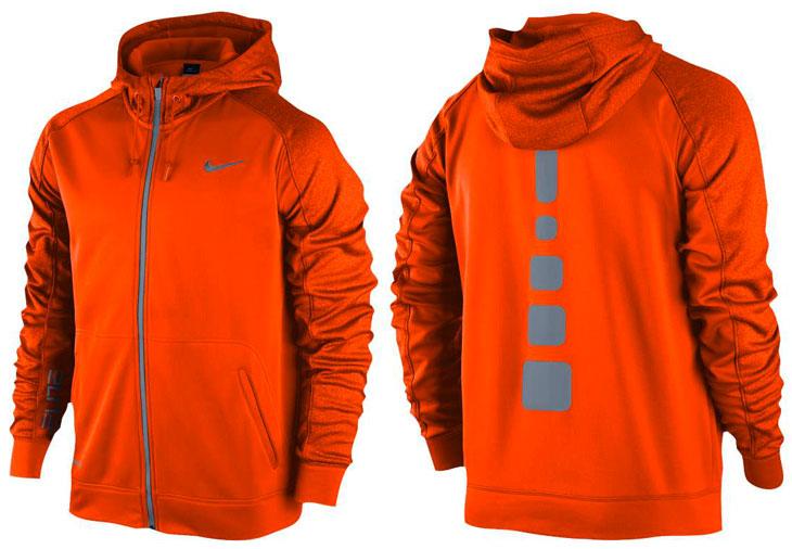 orange nike jacket