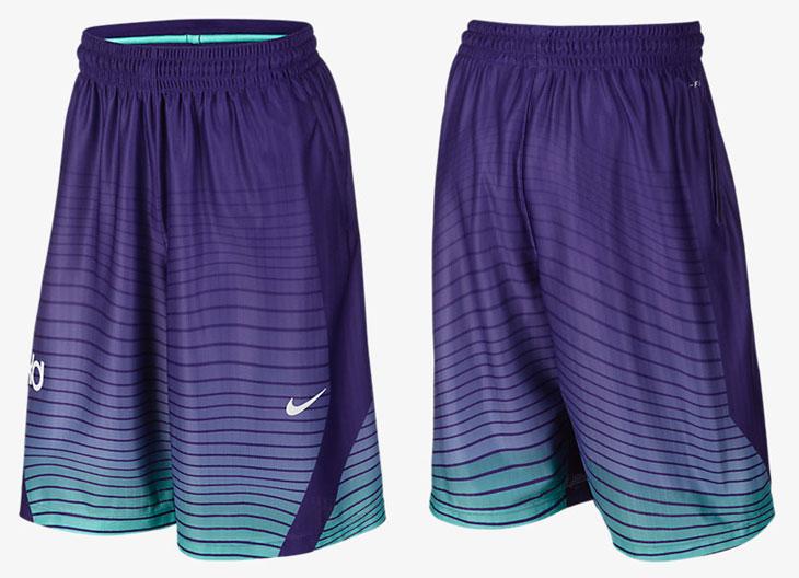 Basketball Shorts To Match Purple Shoes
