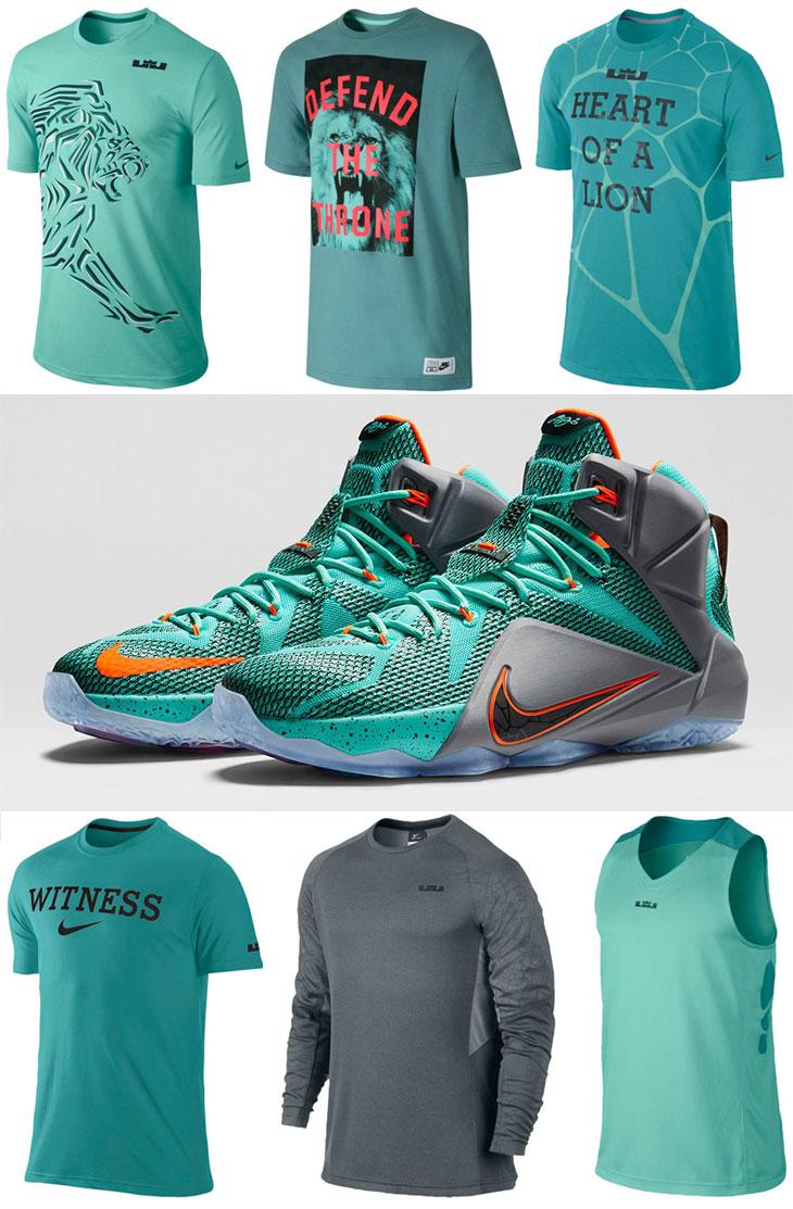 Nike LeBron Shirts to Wear with the Nike LEBRON 12 NSRL ...
