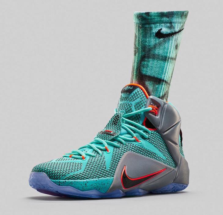 Nike LeBron Socks to Wear with the Nike LEBRON 12 NSRL ...