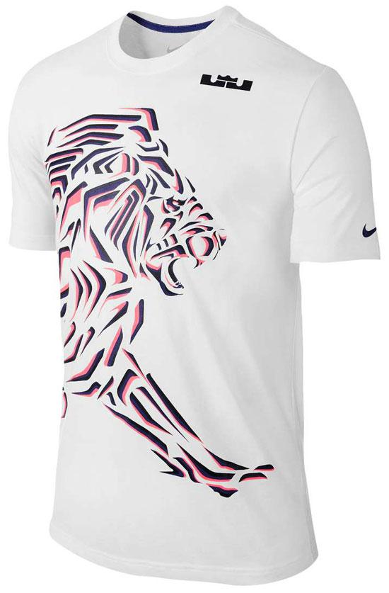 nike lebron shirts to wear with the nike lebron 12