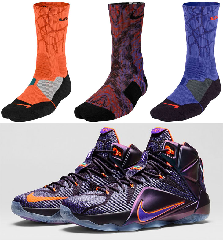 Nike LeBron Socks to Wear with the Nike LeBron 12 Instinct ...
