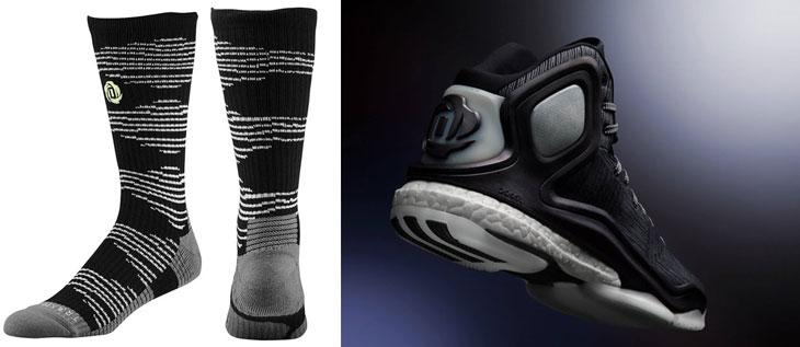 adidas-d-rose-5-bad-dreams-socks - Adidas D Rose 5 Bad Dreams Socks SportFits.com