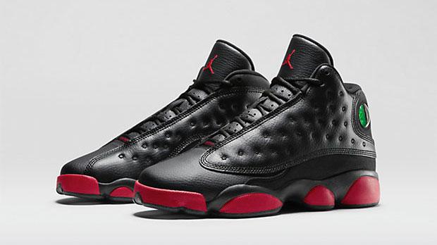 Air Jordan 13 Black Gym Red Kids Boys Toddler Shoes ...