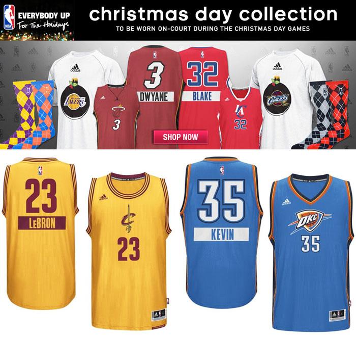 Adidas nba christmas day 2014 clothing and jerseys sportfits com