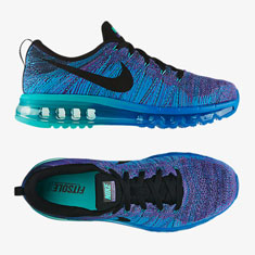 the best attitude 3730c d4c04 ... nike air max blue purple fade ...