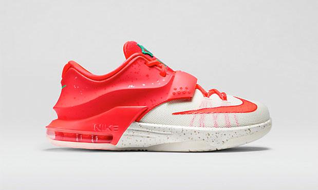 Nike kd christmas egg nog kids shoe sportfits