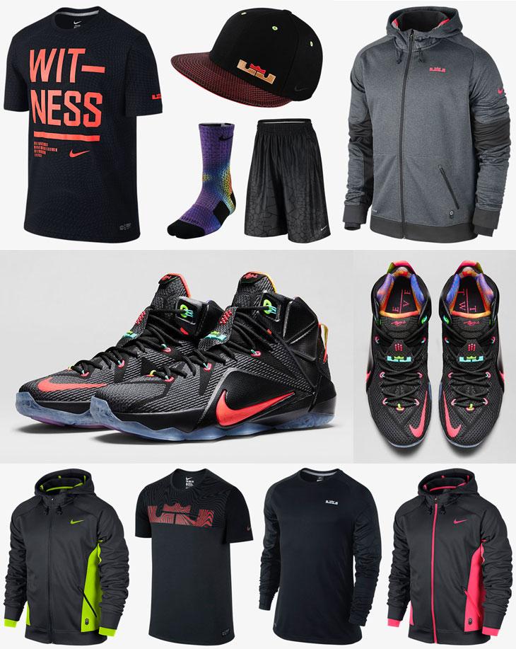 nike lebron 12 data clothing shirts and shorts sportfits