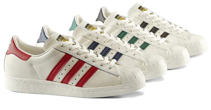 adidas superstar 80s Green