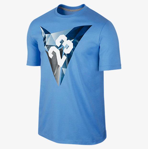 Mens air jordan vii of diamonds t shirt for French blue t shirt