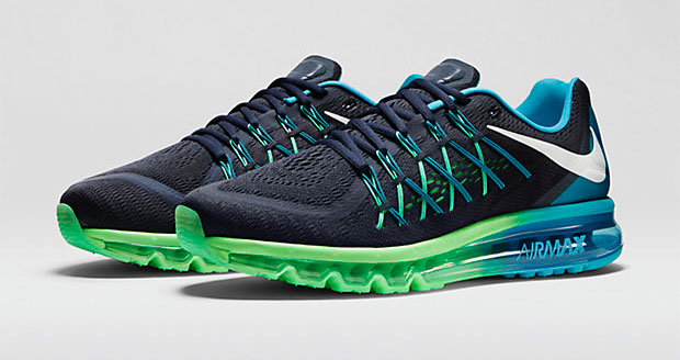 Nike Air Max 2015 Blue And Green