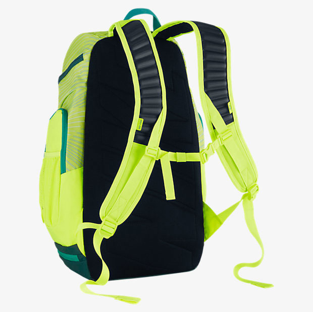 green and yellow nike elite backpack