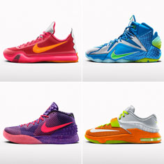 Nike Zoom City All-Star Collection Now Available on NIKEiD