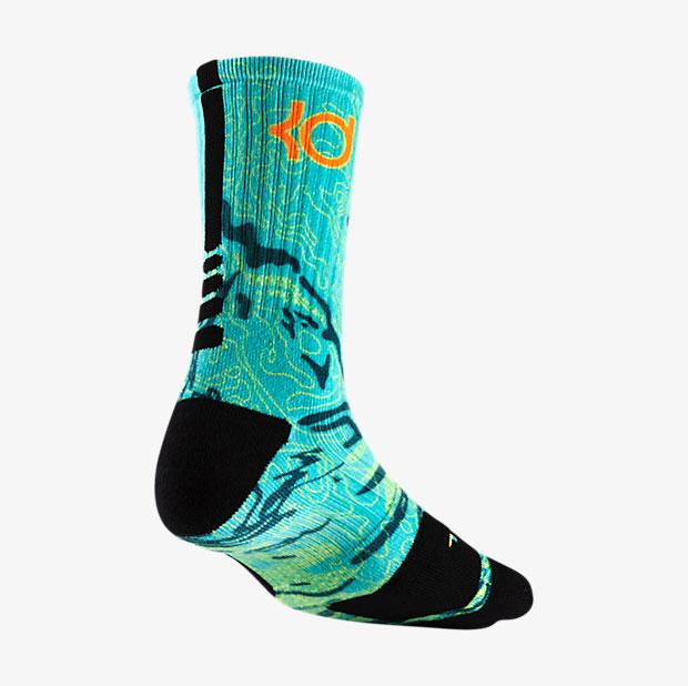 buy online fddbd 80d08 ... kd trey 5 ii socks  Nike KD 7 Weatherman Elite Socks ...