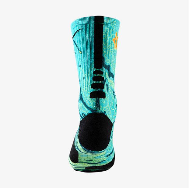 Nike kd 7 weatherman socks for Kevin durant weatherman shirt
