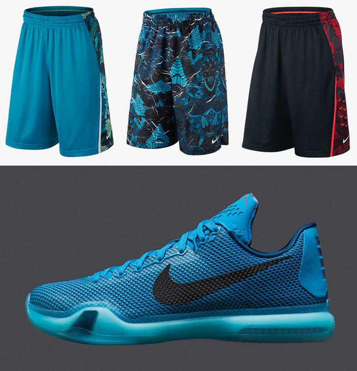 kobe bryant basketball shorts
