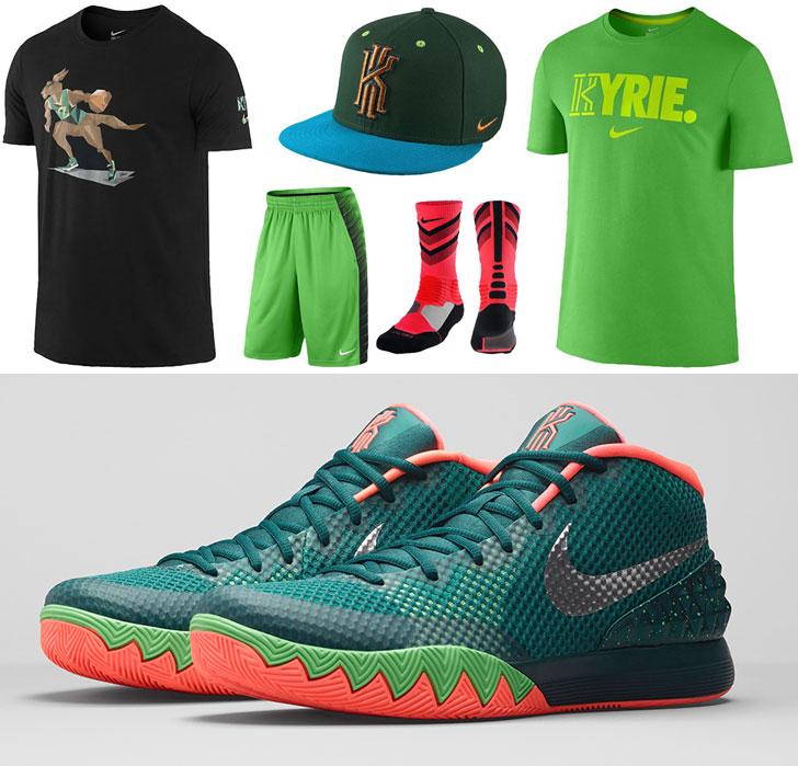 nike shoes kyrie 1 easter shirts 858835