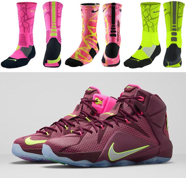 new product 4ea84 3ea38 ... nike lebron socks to wear with nike lebron .. ...