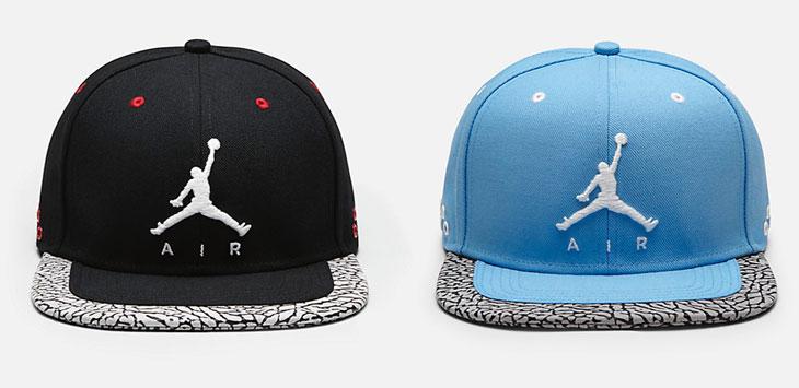 blue jordan hat