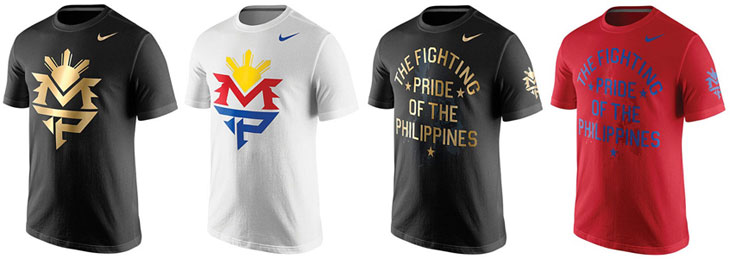 New nike manny pacquiao shirts for mayweather vs pacquiao for Manny pacquiao nike t shirt