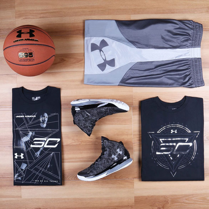 Under Armour Curry One Mi30 Clothing Shirts And Shorts