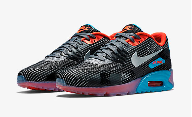 nike air max 90 knit jacquard ice quickstrike