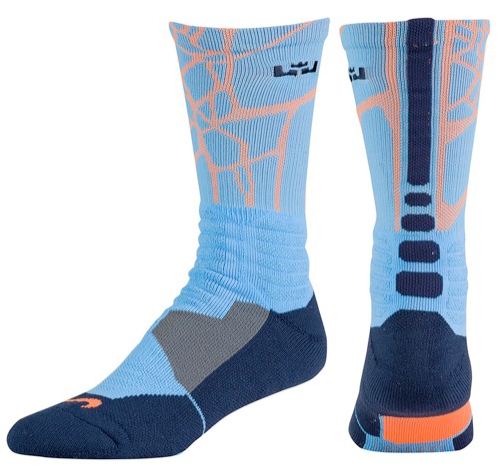 Nike LeBron 12 Elite Elevate Socks | SportFits.com