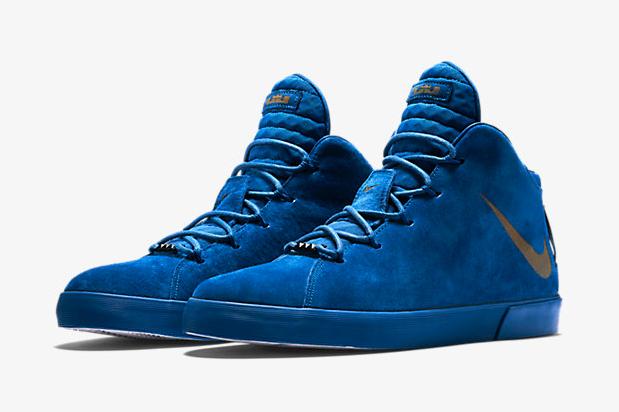 Nike LeBron 12 Lifestyle Blue Suede Game Royal | SportFits.com