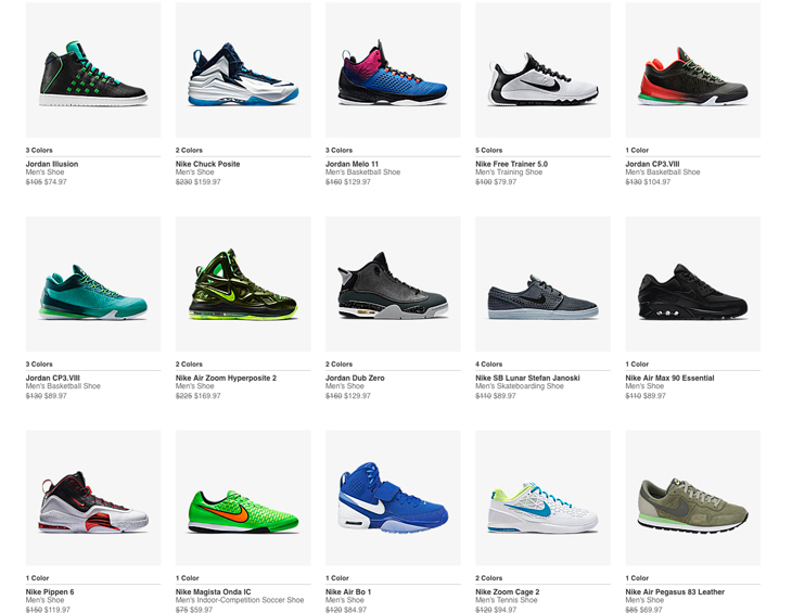 Nike Shoes for Men Clearance Sale