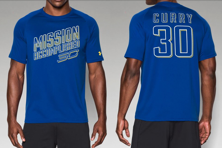 Under Armour Steph Curry Championship Shirt