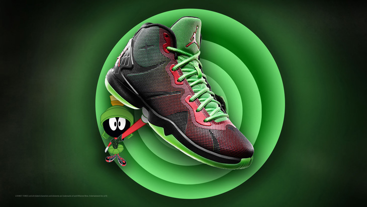 nike shox Saikano rose - Jordan Super Fly 4 Marvin the Martian | SportFits.com