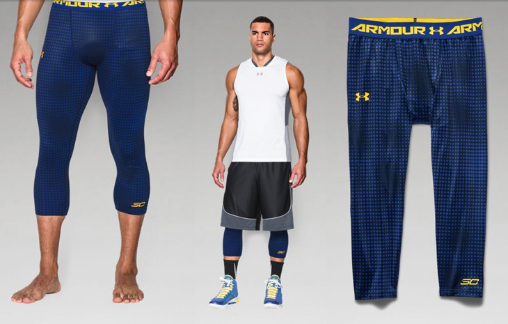 Under Armour Stephen Curry Leggings Tights | SportFits.com
