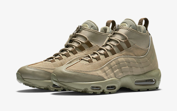 Nike Air Max 95 Sneakerboot Trainers In Green