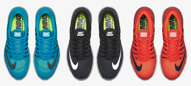 Nike Air Max 2016 All Colors