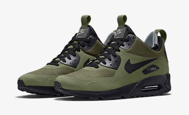 nike air max 90 mid winter dark loden. Black Bedroom Furniture Sets. Home Design Ideas