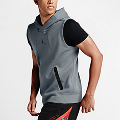 Jordan Ultimate Flight Sleeveless Hoodie | SportFits.com