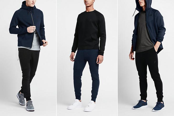 nike tech fleece clothing obsidian blue 7bbb18fa1