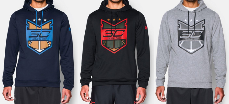 new style 5c0f6 efb1d Basketball Under Armour Sweatshirt: Under Armour Stephen ...