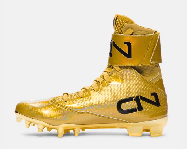 Cam Newton MVP Cleats by Under Armour | SportFits.com
