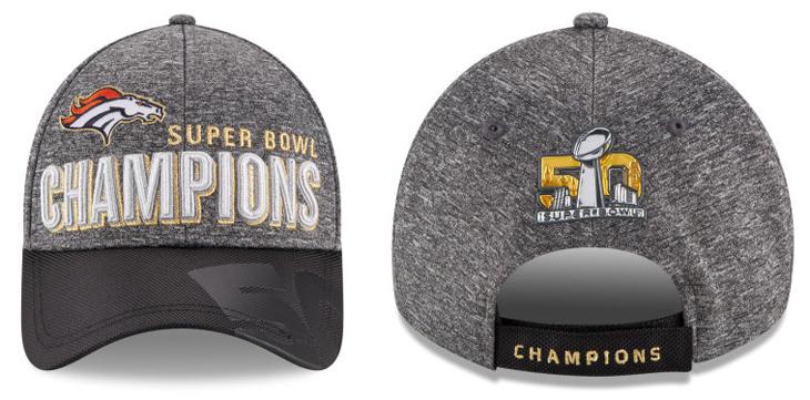New Era Denver Broncos Super Bowl 50 Champ Cap Sportfits Com