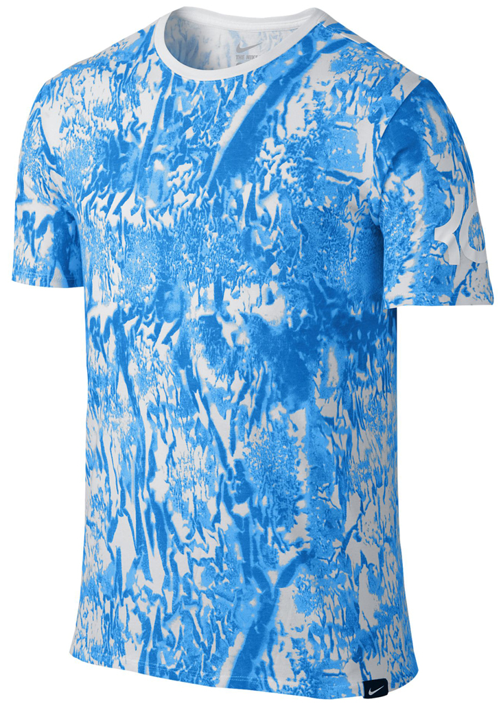 Nike kd 8 made from rain shirt for Kevin durant weatherman shirt