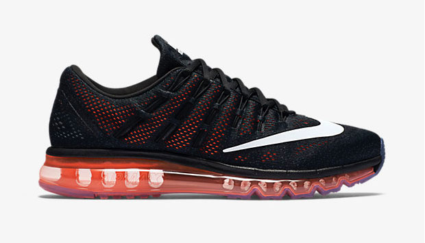 nike air max 2016 black and orange