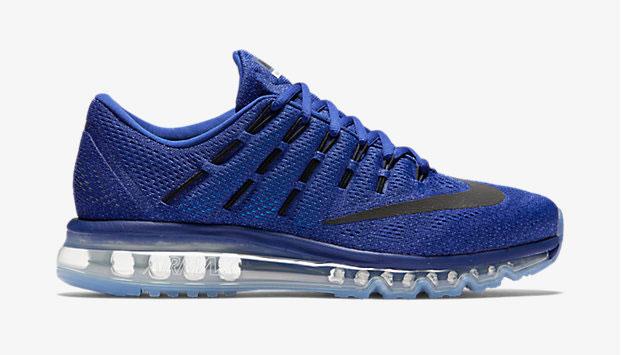 nike chaussures personnalisées taquets - Royal Blue Air Max 2016 - Maison Fran?aise d'Oxford