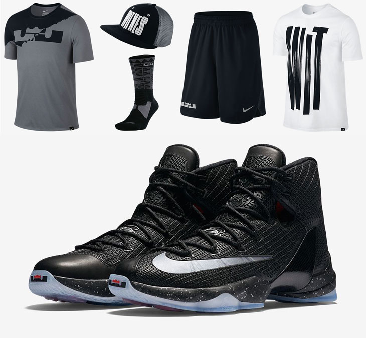 nike lebron 13 ready to battle clothing sportfits