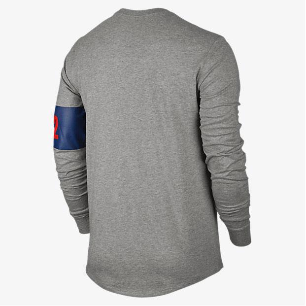 Air jordan 7 olympic long sleeve shirt for 92 dream team t shirt