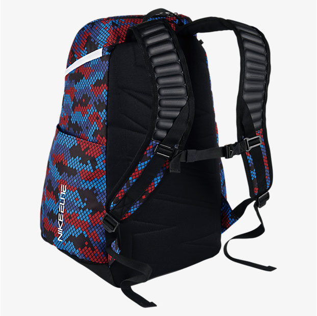 nike elite backpack red white and blue